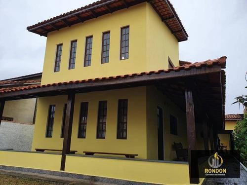 Casa Com 4 Dormitórios À Venda, 257 M² Por R$ 425.000,00 - Loty - Itanhaém/sp - Ca1281