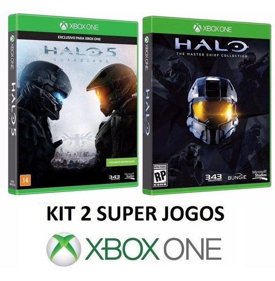 Halo 5 4 3 2 1 + Nightfall - Midia Fisica Lacrado - Xbox One