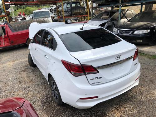 Sucata Hyundai Hb20 1.6 2019 Automatico - Rs Auto Peças