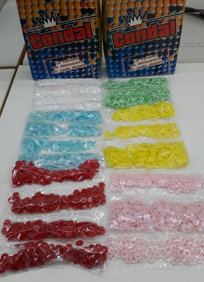 Broche Bebe Plastico 10-10 Carhenyl Y Condal X 100 Unidades