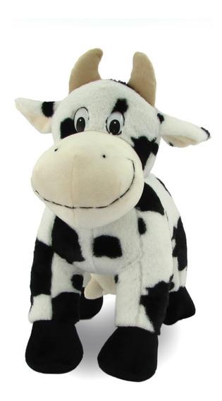 Pelúcia Animais Fazenda Vaca/ Cavalo/ Ovelha/ Porco 35cm