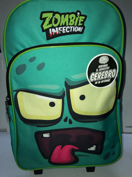 Mochila C/carro 16 Zombie Infection Faydi Duendesyprincesas