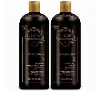 G Hair Inoar Escova Progressiva Marroquina Kit 2x1000ml