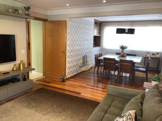 Apartamento 149m - 3 Suítes- Condomínio Vila Arboreto - - Ap1373