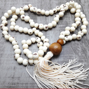 Japamala Budista Ho´oponopono 108 Contas Sementes De Açaí