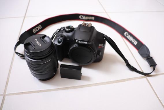 Câmera Canon T6 Lente 18-55mm Bateria Carregador Conservada