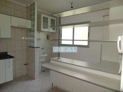 Apartamento Com 2 Dormitórios Para Alugar, 61 M² Por R$ 1.100/mês - Residencial Montreal - Paulínia/sp - Ap1163