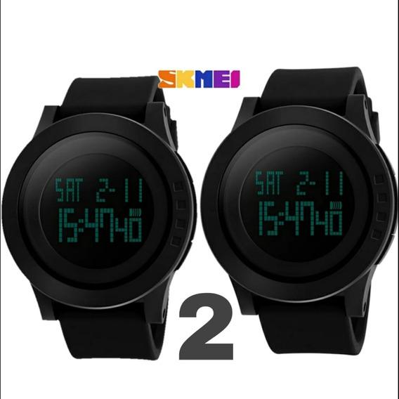 2 Relógio Masculino Skmei Modelo 1142 Prova D
