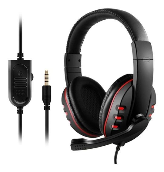 Headset Ps4 Jogos Online Fone De Ouvido Plug P2 - Oferta