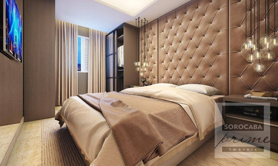 Oportunidade Apartamento Com 2 Dormitórios À Venda, 72 M² Por R$ 345.030 - Condomínio Residencial La Vista Moncayo - Sorocaba/sp, Valor Promocional . - Ap0205