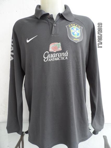 Camisa Brasil Treino Manga Longa