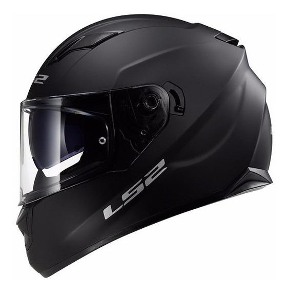 Casco Moto Ls2 F 320 Evo Stream Mate Negro Devotobikes