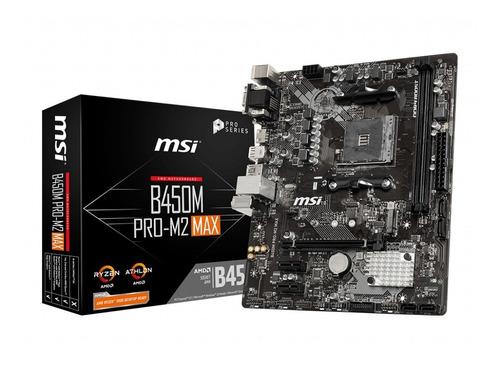 Board Msi B450m Pro-m2 Max