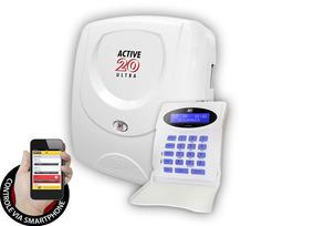 Kit Alarme - Active 20 Ultra + Modulo + Sensores - Jfl
