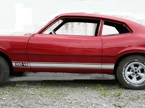 Ford Maverick V8 Em Processo De Restauração