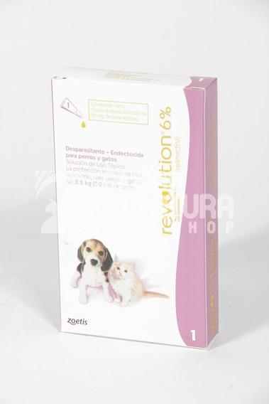 Pipeta Revolution Para Cachorros De 0 A 2,5 Kg