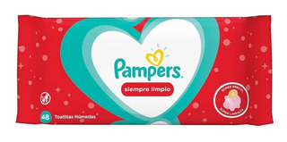 Toallitas Pampers X48 Siempre Limpio