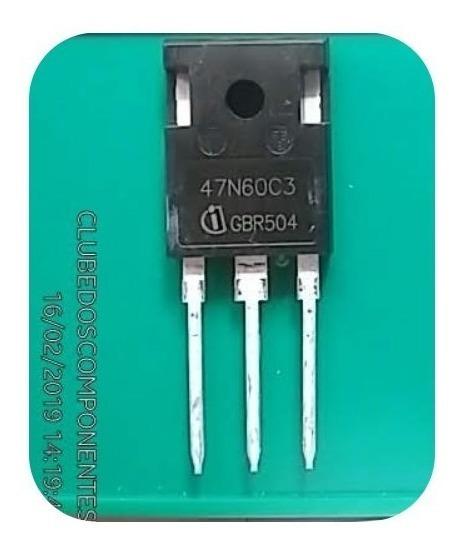 47n60c3 Transistor Spw47n60c3 47n60 47a 650v