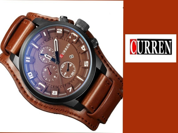 Relógio Masculino Curren 8225 Quartzo A Prova D´água