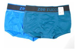 Cueca Sunga Sem Costura Zee Rucci Poliamida Kit Com 8 Peças