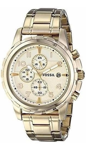 Reloj Fossil Fs4867 Fs4795 Dorado Acero Originales Nuevos