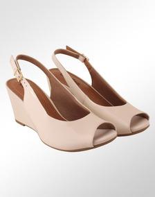 09a26fcbc Feminino Peep Toe Usaflex - Sapatos no Mercado Livre Brasil