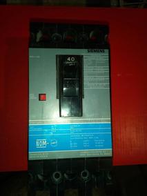 Interruptor Ed43b040, 3 X 40 Amp, Siemens