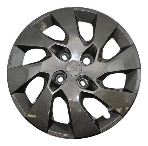 Taza Rueda   Chevrolet  Gm Onix/prisma Rodado 15  Grafit