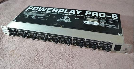 Behringer Ha8000 Powerplay Pro-8 - Willaudio