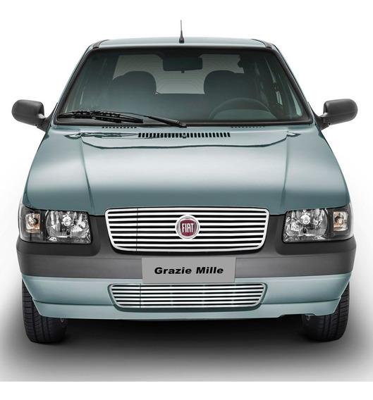 Kit Grade Cromada Uno Mille 2004/ Custom Inox