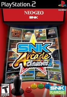 Snk Arcade Classics Vol 1 Playstation 2