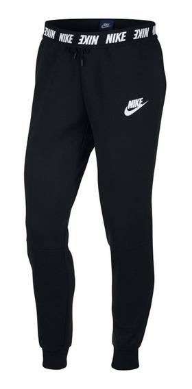 Pantalón Nike Advance 15 Negro Mujer