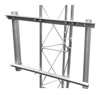 Brazo Lateral Doble Para Torre Arriostrada, Compatible Con S