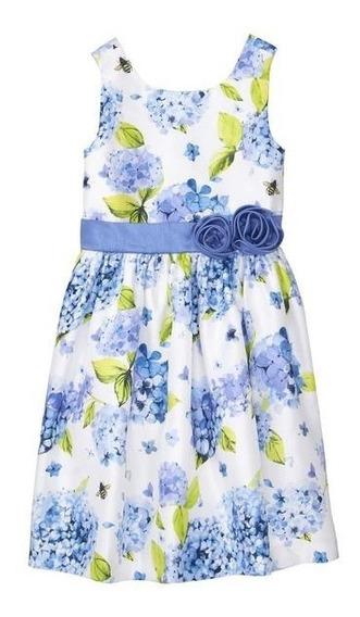Vestidos Niña Gymboree Forrados C/ Flores Talla 12 Nuev $459