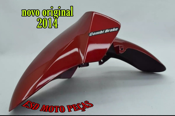 Paralama Vermelho Honda Pcx150 2014 Novo Original Sem Uso