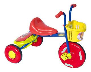 Triciclo Bambino Para Niño Rojo 2 A 5 Años