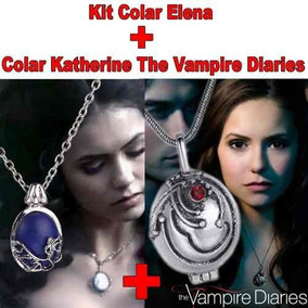 Kit Colar Katherine Pierce Elena Gilbert The Vampire Diaries