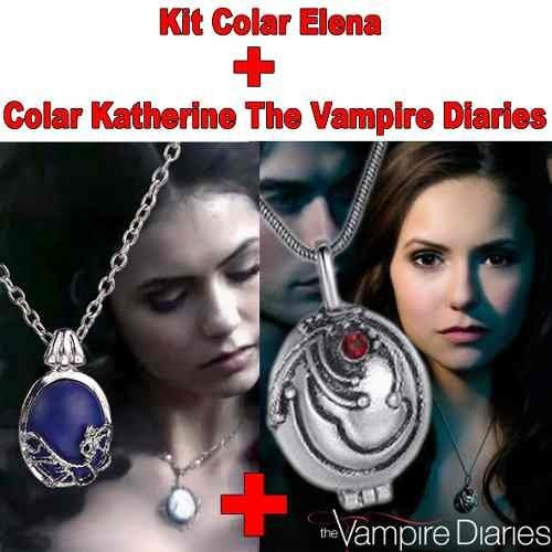 Kit Colar Katherine Pierce Elena Gilbert The Vampire Diaries