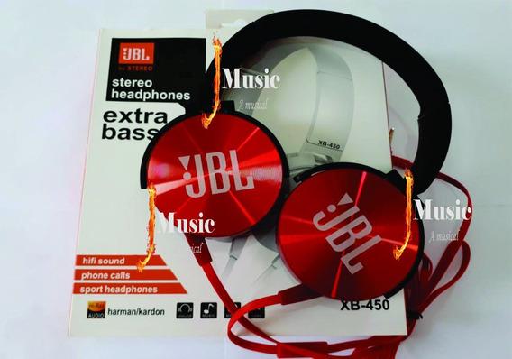 Fone Jbl Xb-450 Extra Bass