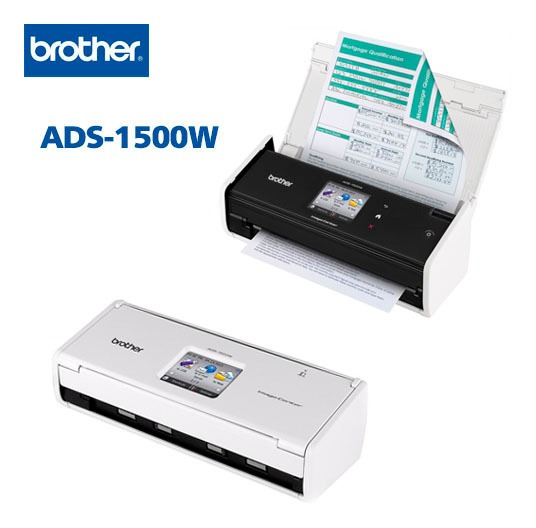 Scanner De Mesa Compacto Ads1500w Brother