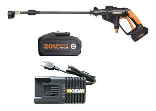 Lavadora De Pressão Wg629e.9 Worx + Bateria 20v + Carregador