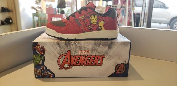 Zapatillas Atomik Ironman Marvel Skate