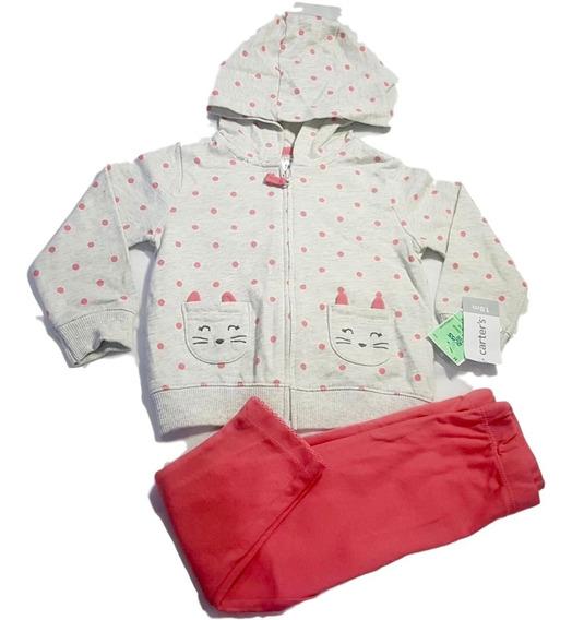 Conjunto Infantil Importado Eua Carters 18 Meses Kit 3 Peças