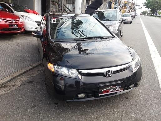 Honda Civic 1.8 Exs Aut. 4p 2007 Financia Sem Entrada