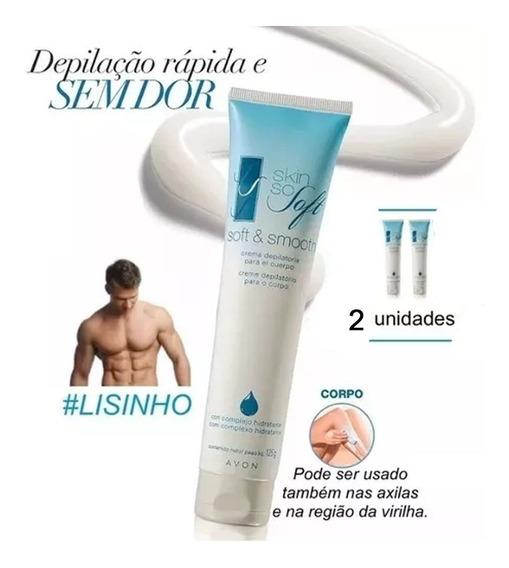Skin So Soft Creme Depilatório P/ O Corpo Avon - 2 Unidades