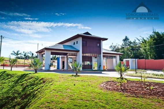 Terreno Residencial À Venda, Condomínio Chácara Ondina Em Sorocaba-sp, Área Total Do Terreno 340,40 M². - Te0108