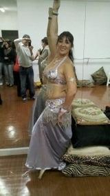 Roupas De Dança Do Ventre Prata Em Santos