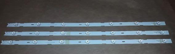 Kit 3 Barras Led Tv Sony 32 Kdl-32r434a