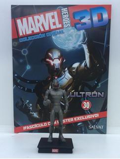 Figura Marvel Últron Colección Héroes 3d Salvat