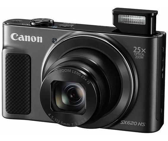Câmera Canon Sx620hs Wifi/ 20.2 Megapixel/ Zoom 25x + 32gb